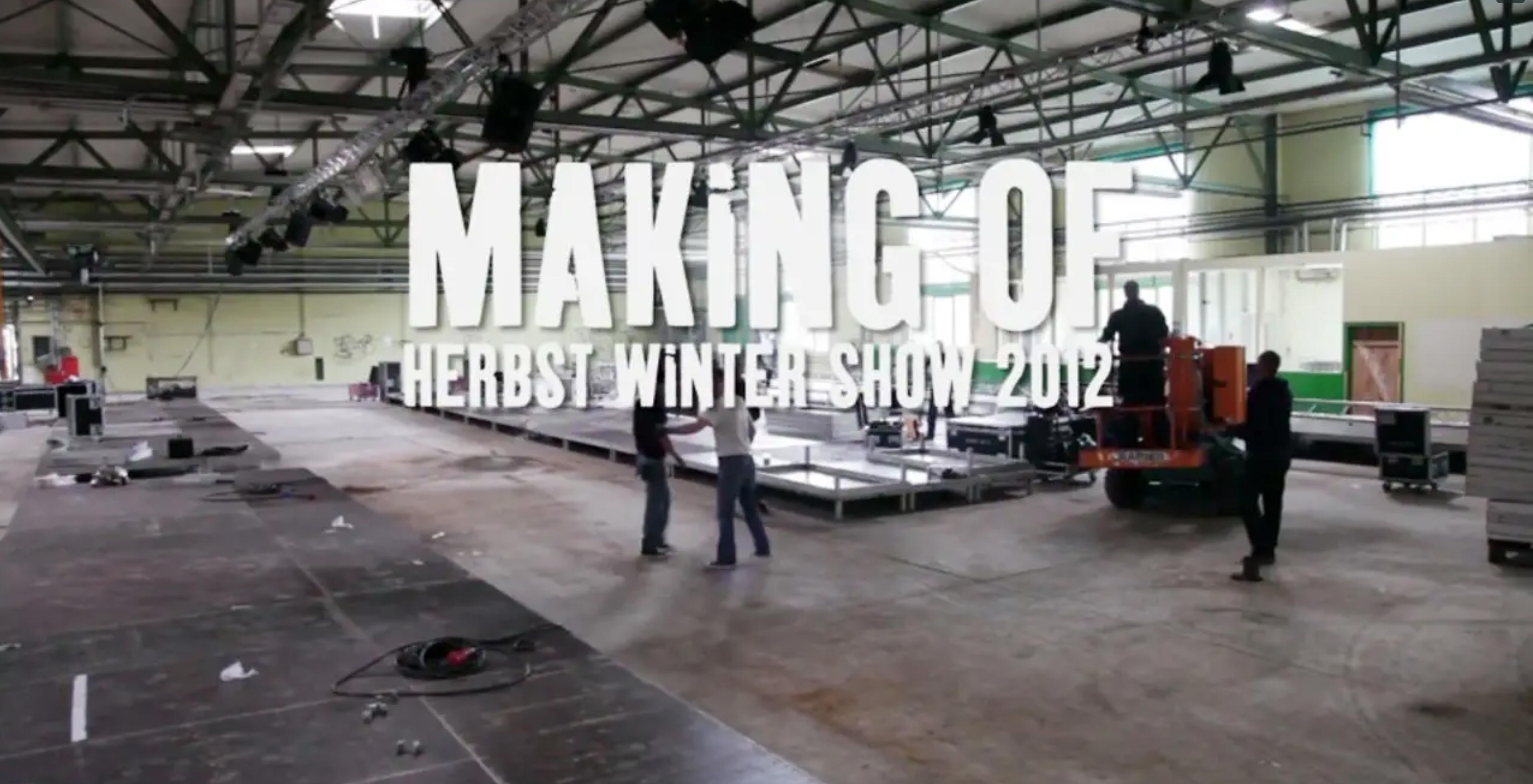 Making Of Søren Fashion Show HW 2012